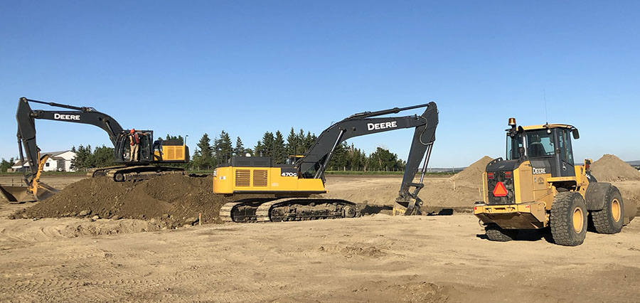 Green Acre Ventures Grande Prairie - Site Grading